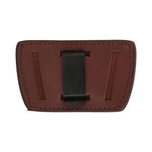 Allen Glenwood Leather Belt Slide Holster Fits Med/Large Frame Handguns Ambidextrous Brown