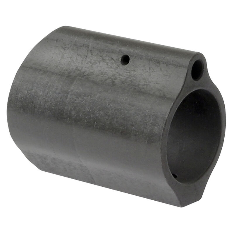 "Midwest Industries AR-15 Low Profile Gas Block .875"" Diameter 4140 Steel Matte Black Finish"