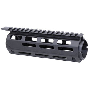 "Guntec AR-15 7"" Aluminum Carbine Length Drop In M-LOK Handguard With Monolithic Top Rail Aluminum Anodized Black"