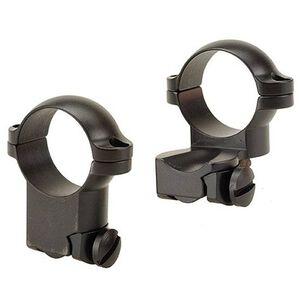 "Leupold Ruger M77 Extension Rings 1"" High Matte Black"