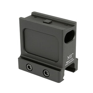 Midwest Industries Night Vision Mount For Aimpoint T1/T2 Non QD Aluminum Black MI-T1-NV