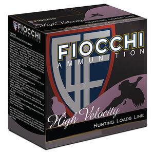 """Fiocchi High Velocity 20 Gauge Ammunition 25 Rounds 2-3/4"""" #6 Shot 1oz Lead 1220fps"""