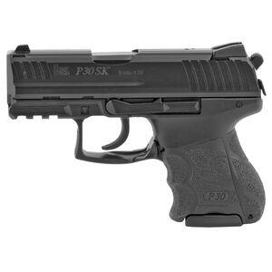 """HK P30SK 9mm Luger Semi Auto Pistol 3.27"""" Barrel 13 Round Magazine V3 DA/SA Fixed Sights Matte Black Finish"""