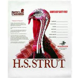 "Hunter's Specialties Turkey Targets 11""x11"" Paper 12 Pack 06850"