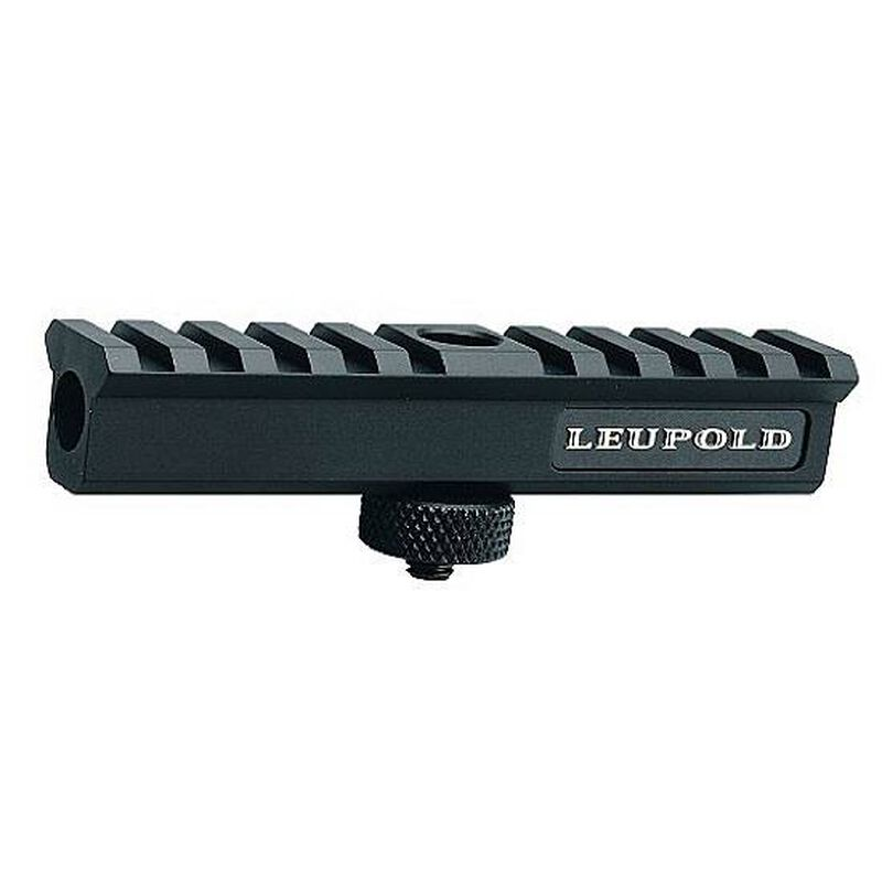Leupold AR-15 and M16 Carry Handle Scope Mount, Black Matte Finish