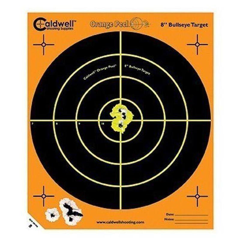 """Caldwell Orange Peel Bulls-Eye 8"""" Targets Five Pack"""