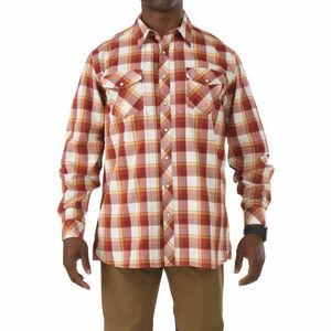 5.11 Tactical Flannel Shirt Long Sleeve Cotton Twill Small Regatta 72404709S