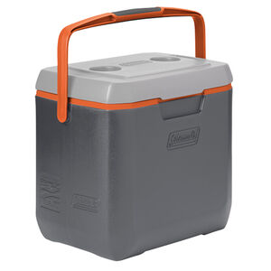 Coleman 28 Quart Extreme Personal Cooler With Carry Handle Dark Gray/Gray/Orange