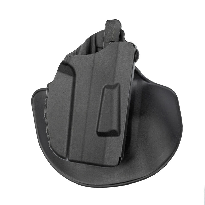 Safariland 7378 7TS ALS Concealment Paddle with Belt Loop Combo Holster fits GLOCK 17/22 Right Hand Synthetic Plain Black
