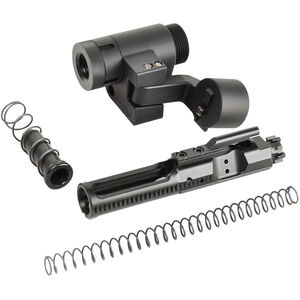 Dead Foot Arms AR-15 Modified Cycle System with Right Side Folding Stock Adaptor 5.56 NATO Nitride BCG Black