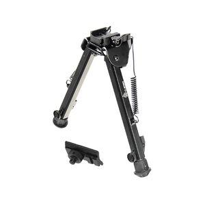 """Leapers UTG Super Duty Bipod Quick Detach Adjustable 8"""" to 12"""" Metal Black TL-BP99Q"""