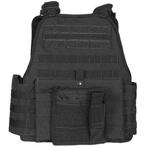 Fox Outdoor Big & Tall Vital Plate Carrier Vest Black