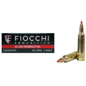 Fiocchi .22-250 Rem 55 Grain BT V-Max 20 Round Box