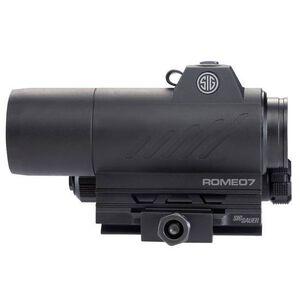 SIG Sauer Romeo7 2 MOA Red Dot Optic AR-15 Mount Graphite Black SOR71001