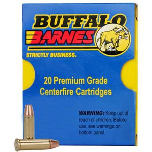 Buffalo Bore .40 S&W Ammunition 20 Rounds Barnes TAC-XP 125 Grain 23D/20