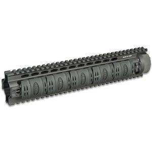 "Leapers UTG PRO AR-15 Free Float Quad Rail Handguard 13"" Rifle Length Aluminum Black MTU006"