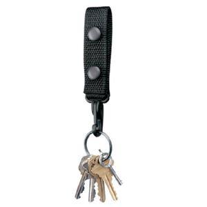 Gould & Goodrich Key Strap Duraweb Nylon Black X122