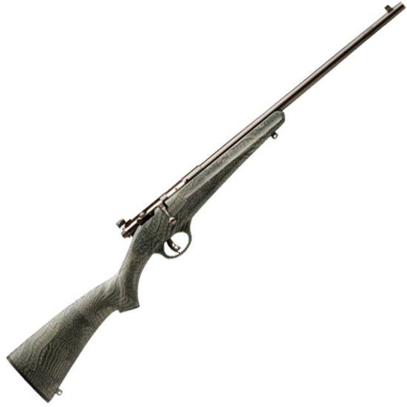 "Savage Rascal .22 LR Bolt Action Rimfire Rifle 16"" Barrel Single Shot Gator Camo Synthetic Stock Blued Finish"