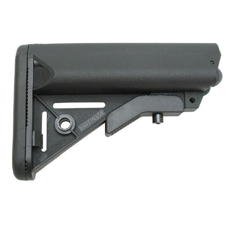 XTS AR-15 Cheek Rest Storage Compartment Stock Mil-Spec Black XTS CRSTK