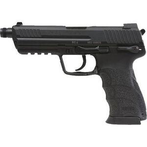 "H&K HK45T Tactical V1 Semi Auto Pistol .45 ACP 5.2"" Threaded Barrel 10 Rounds Polymer Frame Black Finish 745001T-A5"