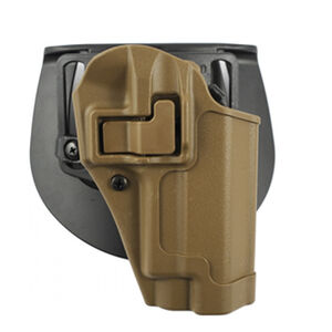 BLACKHAWK! Serpa CQC Concealment Holster Glock 20/21/Smith & Wesson M&P .45 Holster Right Hand Matte Finish Matte Finish Coyote Tan