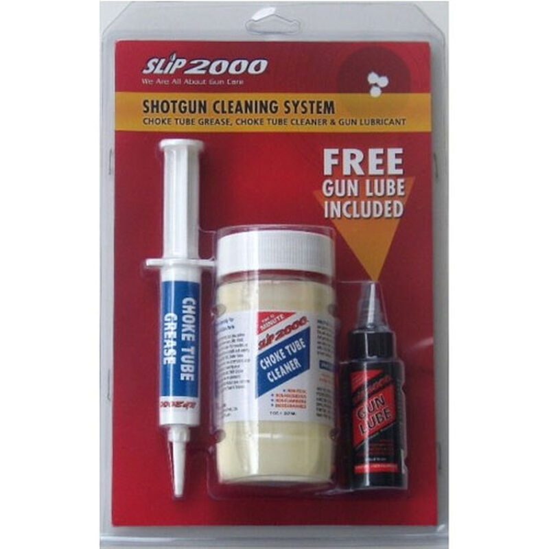 Slip 2000 Shotgun Cleaning System Gun Lube/Choke Tube Cleaner/Choke Tube  Grease 3 Pack