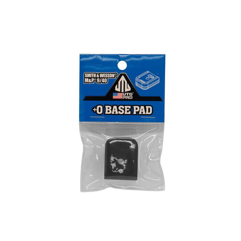 UTG PRO +0 Base Pad, S&W M&P 9/40, Matte Black Aluminum