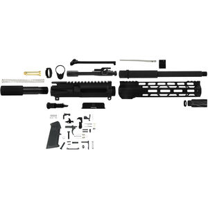 TacFire Complete AR-15 Pistol Build Kit Chambered in 300 AAC Blackout Black Parkerized Finish