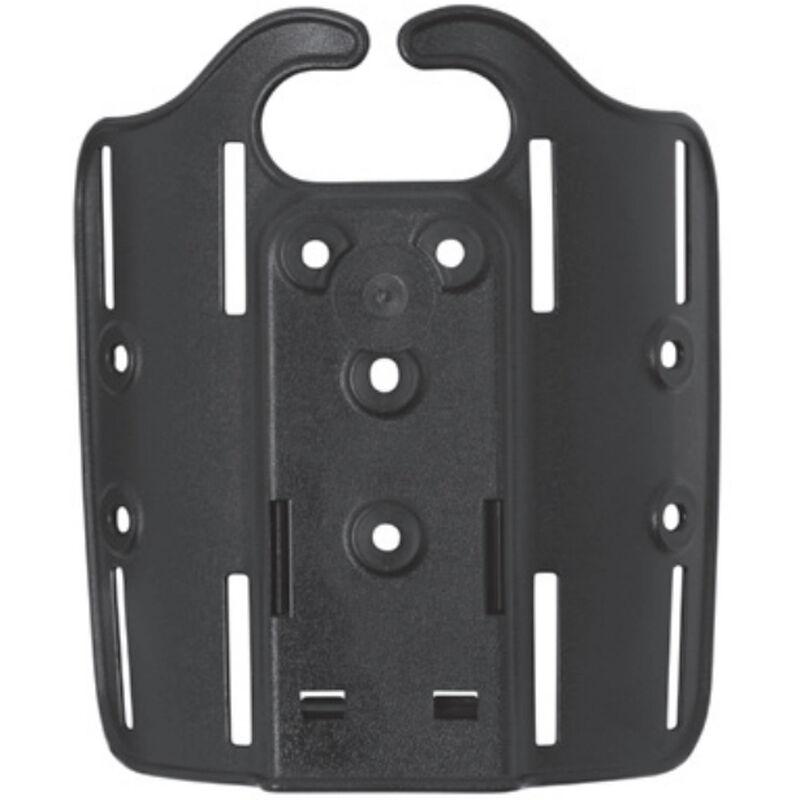Safariland 6004-4 Thigh Plate For Double Strap Leg Shroud Polymer Black