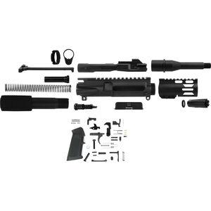 "TacFire AR-15 Complete Pistol Build Kit 9mm 5"" Barrel Lower Parts Kit Matte Black Finish"