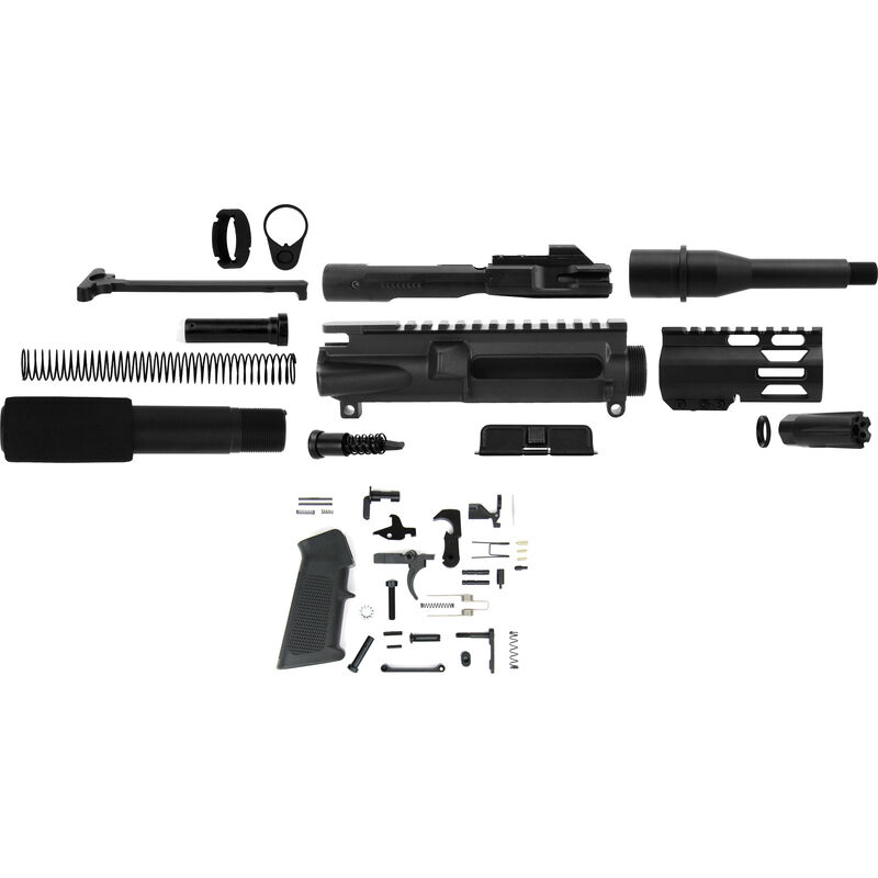TacFire AR-15 Complete Pistol Build Kit 9mm 5