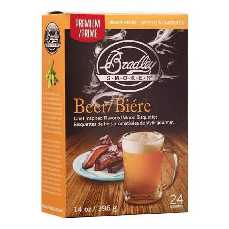 Bradley Smoker Beer Bisquettes 24 Pack