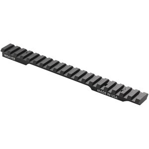 Weaver Tactical Extended Multi Slot Base with 20 MOA Savage 10/11/12/14/16 Aluminum Matte Black