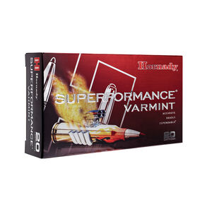 Hornady Superformance Varmint .204 Ruger Ammunition 20 Rounds V-Max 40 Grains 83206