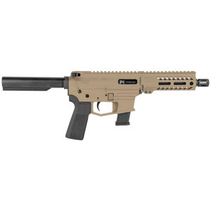 """Angstadt Arms UDP-9 9mm Luger AR Style Semi Auto Pistol 6"""" Barrel 17 Rounds Uses GLOCK Style Magazines Free Float M-LOK Hand Guard Flat Dark Earth Cerakote Finish"""