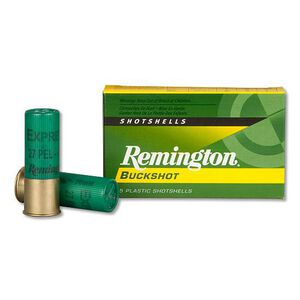 "Remington 12 Gauge 2.75"" #4 Buck 27 Pellets 5 Round Box"