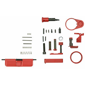 WMD Guns AR-15 Accent Build Kit/Mil-Spec Assembly Parts Red Finish