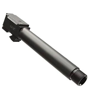 SilencerCo GLOCK 17L Threaded Barrel 9mm Stainless Black AC861