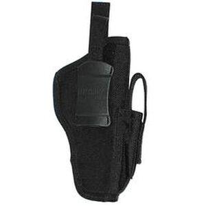 "Ambidextrous Belt Holster Medium-Frame Autos 3"" to 4"" Barrels Mag Pouch Black Warranty"
