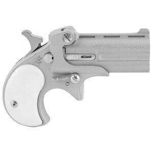 "Cobra Classic Derringer .22LR 2.4"" Barrel 2 Rounds Satin Cerakote Finish Pearl Grips"