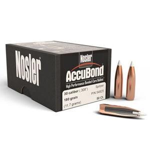 Nosler 7mm/.284 AccuBond Bullet 50 Projectiles 150 Grain Spritzer Point