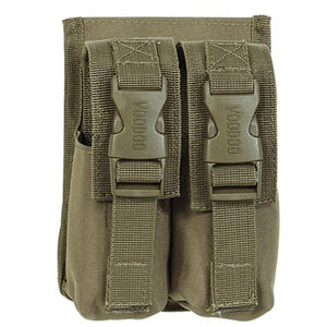 Voodoo Tactical Double M84 Flashbang Grenade Pouch Nylon Coyote 20-932107000
