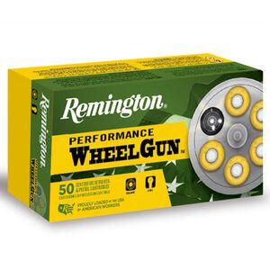Remington Performance WheelGun .38 Special Ammunition 50 Rounds 158 Grain Semi Wad Cutter