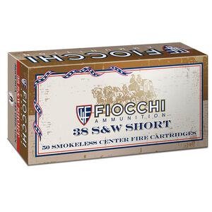 Fiocchi Cowboy Action .38 S&W Short Ammunition 50 Rounds Lead Round Nose 145 Grains 38SWSHL