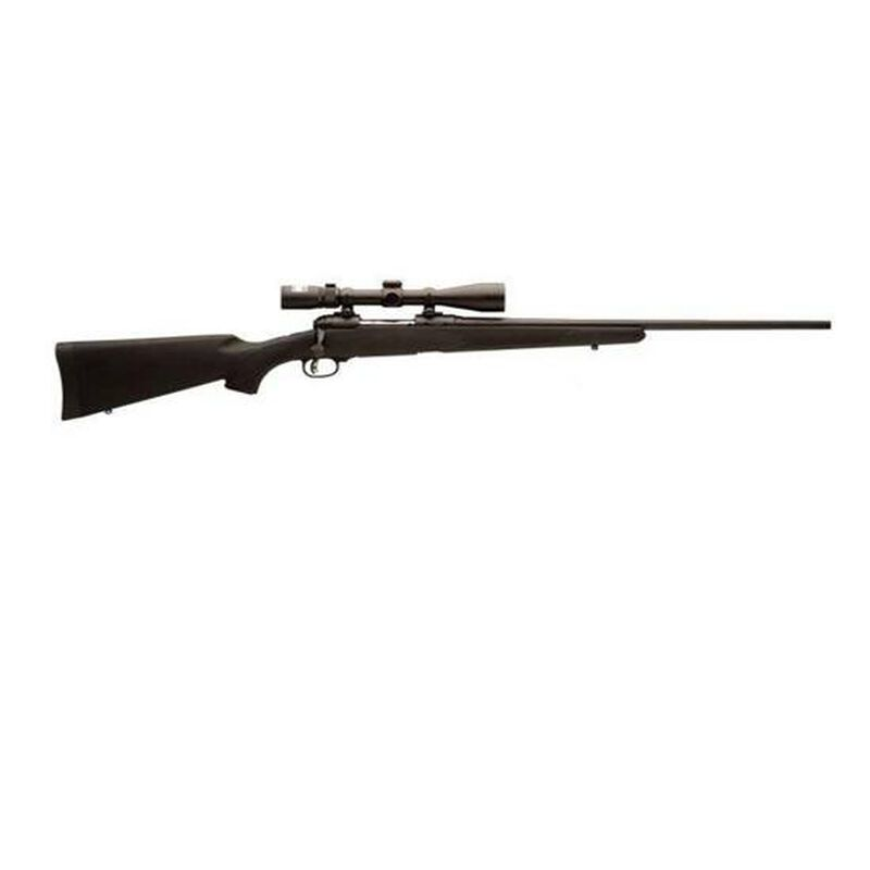 """Savage 11 Trophy Hunter XP Bolt Action Rifle .300 WSM 24"""" Barrel 2 Rounds Nikon 3-9x40 Scope AccuTrigger Synthetic Stock Black 19686"""