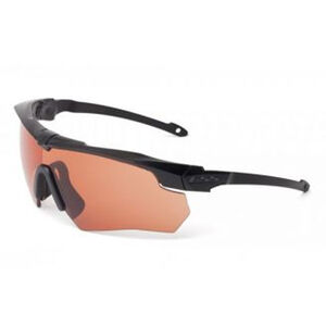 Eye Safety Systems Crossbow Suppressor Glasses Clear, Gray and Copper Lens Black Frame 740-0388