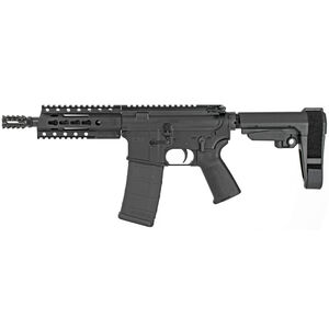"Diamondback Firearms DB15 AR-15 5.56 NATO Semi Auto Pistol 7.5"" Barrel 30 Rounds Free Float Hand Guard SB Tactical SBA3 Pistol Brace Matte Black"