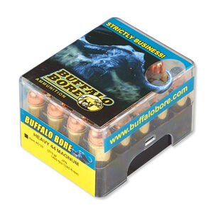 Buffalo Bore .44 Remington Magnum Ammunition 20 Rounds JFN 270 Grains 4C/20