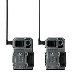 Spypoint Link Micro-LTE 10 MP Infrared 80 ft Flash Gray None SD SDHC Card 32 GB (Not Included) Memory 2pk
