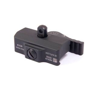 American Defense Mfg. Harris Bipod Mount Sling Swivel Stud with QD Lever 6061 T6 Aluminum Black AD-BP